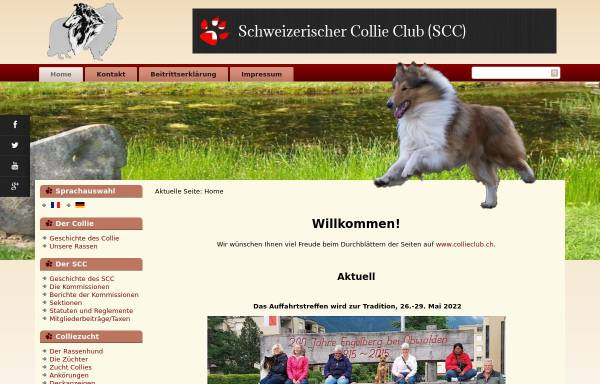 Vorschau von www.collieclub.ch, Schweizer Collie Club
