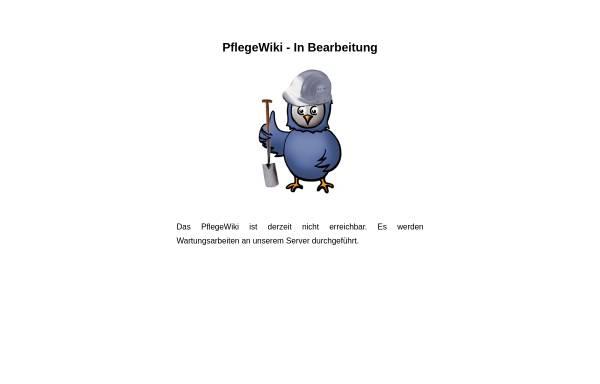 Vorschau von www.pflegewiki.de, PflegeWiki