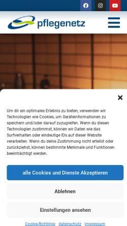Vorschau der mobilen Webseite www.pflegenetz.at, PN - Pflegenetz