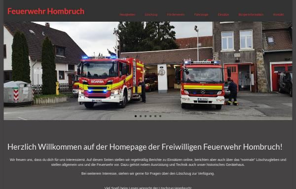 Vorschau von www.feuerwehr-hombruch.de, Loeschzug Hombruch