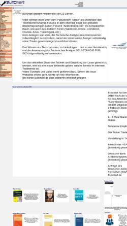 Vorschau der mobilen Webseite www.bullchart.de, Bullchart.de