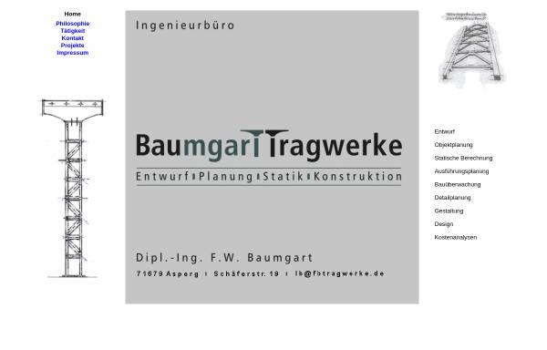 Vorschau von www.fbtragwerke.de, Baumgart, Fredi