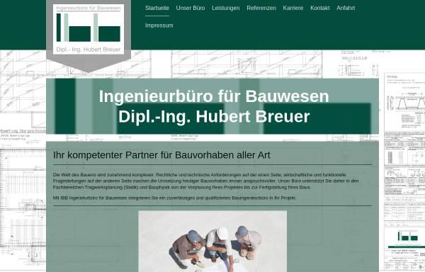 Vorschau von www.ibb-breuer.de, Breuer, Hubert