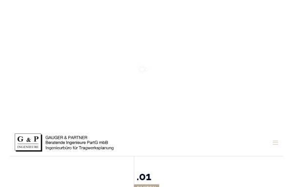 Vorschau von www.gauger-und-partner.de, Gauger und Partner