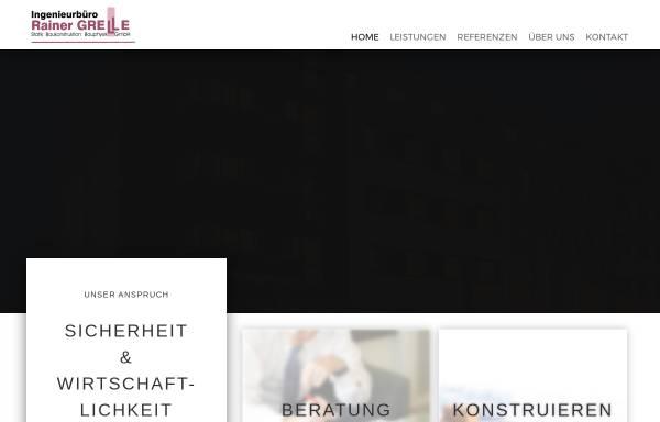 Vorschau von www.ing-grelle.de, Grelle, Rainer