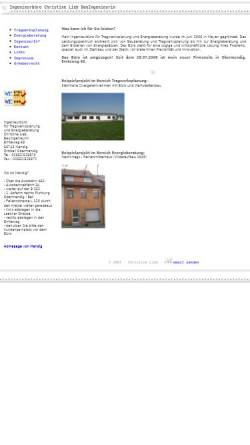 Vorschau der mobilen Webseite www.bauingenieur-lieb.de, Lieb, Christine