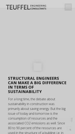 Vorschau der mobilen Webseite www.patrick-teuffel.com, Teuffel, Patrick