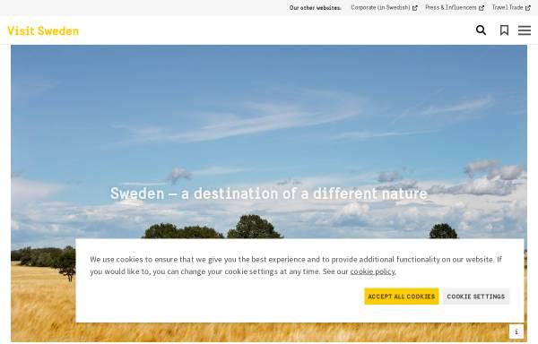 Vorschau von www.visitsweden.com, VisitSweden
