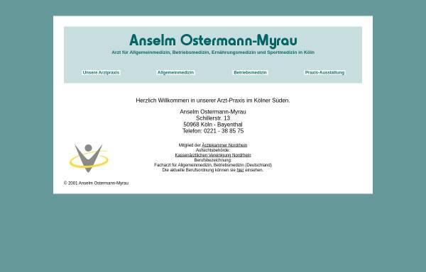 Vorschau von www.allgemeinmedizin-in-koeln.de, Anselm Ostermann-Myrau