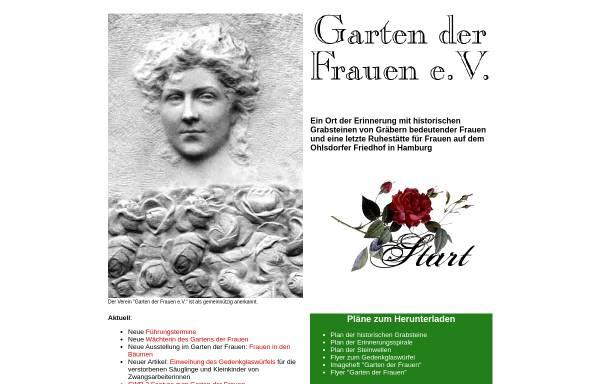 Vorschau von www.garten-der-frauen.de, Garten der Frauen