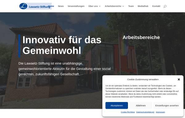 Vorschau von www.lawaetz.de, Johann Daniel Lawaetz-Stiftung, Hamburg