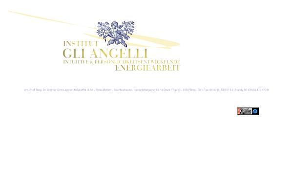 Vorschau von www.gli-angelli.at, Institut Gli Angelli