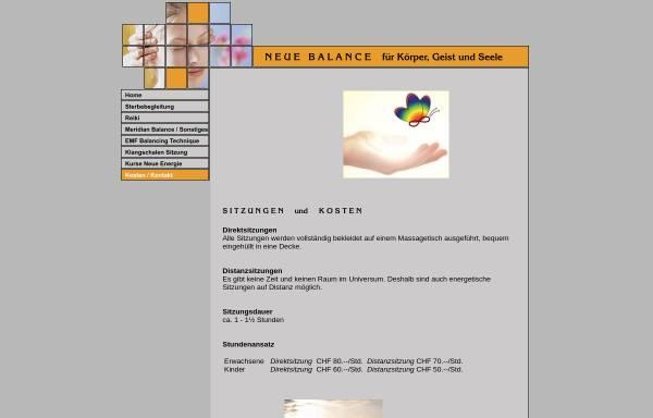 Vorschau von www.neue-balance.ch, Neue Balance