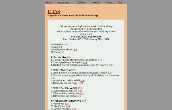 Vorschau von www.servus.at, Ilias