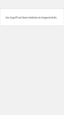 Vorschau der mobilen Webseite www.stefanie-menzel.com, Systems of Life