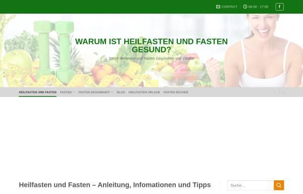 Vorschau von www.heilfasten-berater.de, Heilfasten-Berater