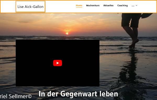 Vorschau von www.coaching-feldenkrais.de, Lise Aick-Gallon