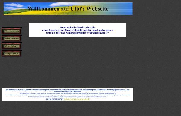 Vorschau von www.ulbi.de, Ulbis Chronik