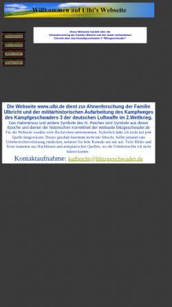 Vorschau der mobilen Webseite www.ulbi.de, Ulbis Chronik