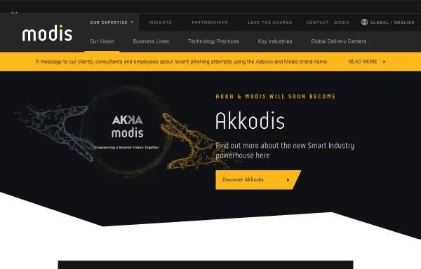 Vorschau von www.modis.com, Euro Engineering AG