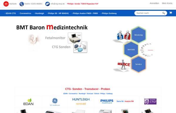Vorschau von www.ctg-shop.de, Baron Medizintechnik, Inh. Bernhard Baron