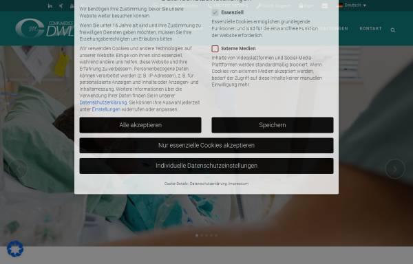 Vorschau von www.dwl.de, Compumedics Germany GmbH