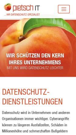 Vorschau der mobilen Webseite www.multichart.de, Multichart Börseninformation GmbH