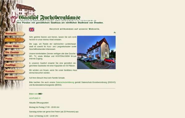 Vorschau von www.fuchsbergklause.de, Fuchsbergklause