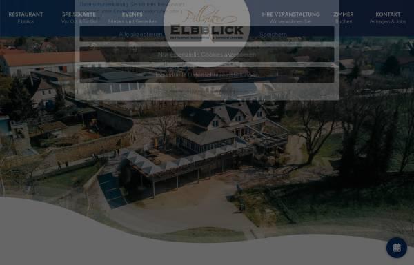 Vorschau von www.elbblick-pillnitz.de, Hotel Pillnitzer Elbblick