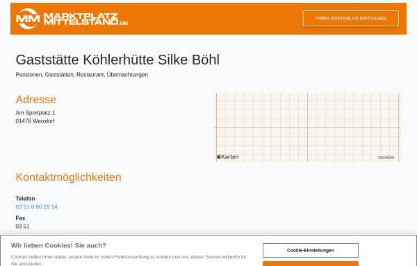 Vorschau von www.mon.de, Köhlerhütte