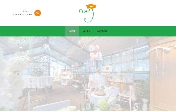 Vorschau von www.flora-leppert.de, Flora Blumengalerie
