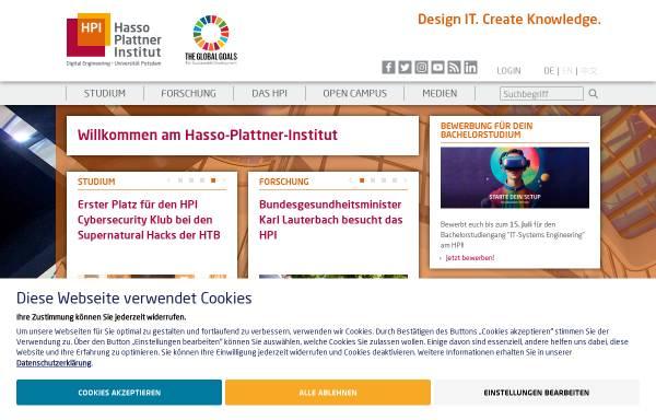Vorschau von hpi.de, Hasso-Plattner-Institut GmbH