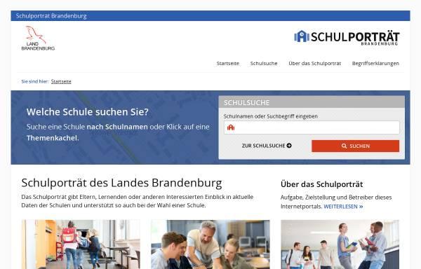 Vorschau von www.bildung-brandenburg.de, Schulporträts des Landes Brandenburg - Ministerium für Bildung, Jugend und Sport des Landes Brandenburg