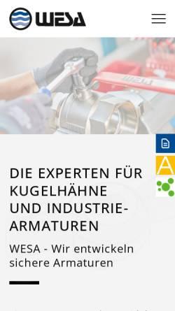 Vorschau der mobilen Webseite www.aeromatic.de, Aeromatic GmbH