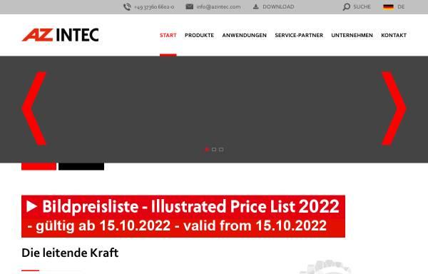 Vorschau von www.azintec.com, AZ Industrietechnik GmbH