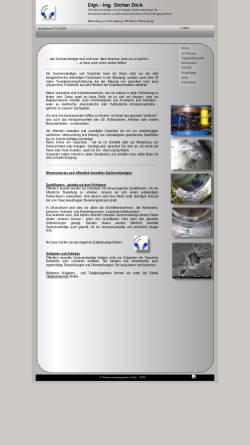 Vorschau der mobilen Webseite www.armaturen-dick.de, Dipl.-Ing. Stefan Dick