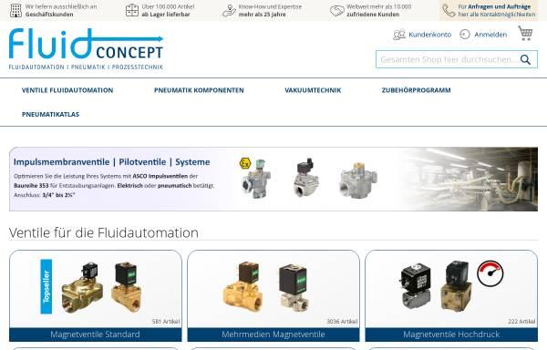 Vorschau von www.fluidconcept.de, Fluidconcept GmbH