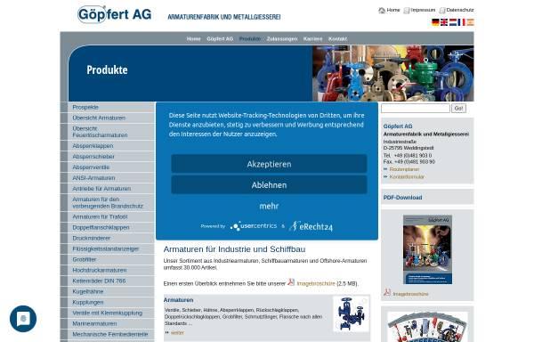 Vorschau von www.goepfert-ag.com, Göpfert AG