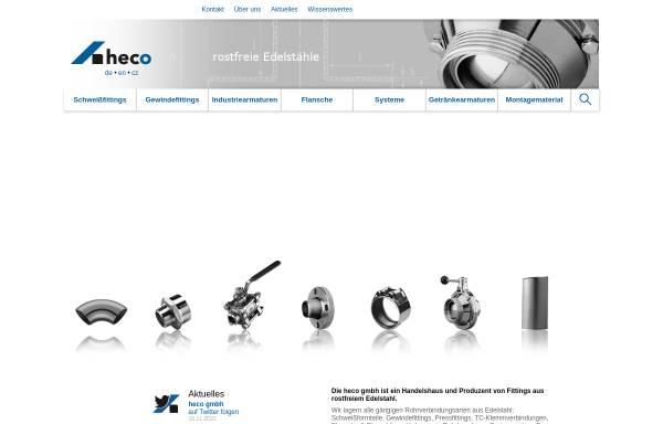Vorschau von www.heco.de, Heco Handels-GmbH