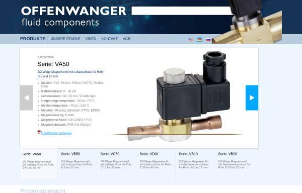Vorschau von offenwanger.com, Offenwanger GmbH