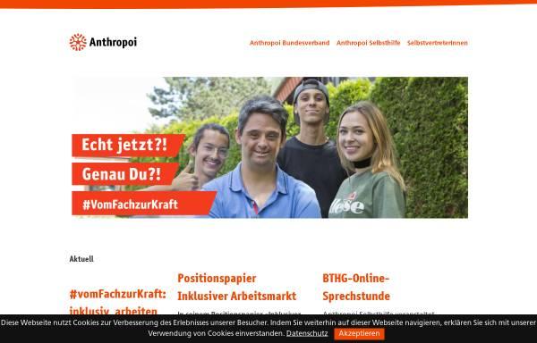 Vorschau von www.verband-anthro.de, Verband für Anthroposophische Heilpädagogik, Sozialtherapie und soziale Arbeit e.V.