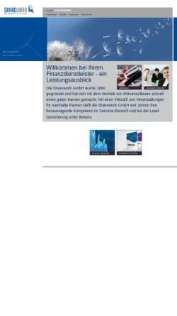 Vorschau der mobilen Webseite www.sharework.de, Sharework GmbH