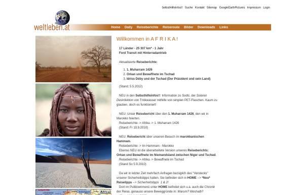 Vorschau von www.weltleben.at, Weltleben