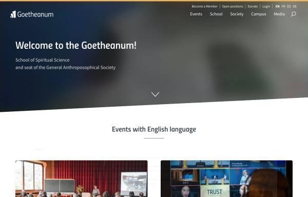 Vorschau von www.goetheanum-buehne.ch, Goetheanum-Bühne