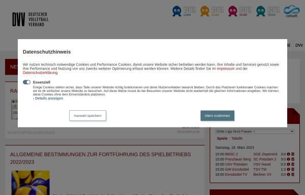 Vorschau von www.vv-rheinland.de, Volleyballverband-Rheinland