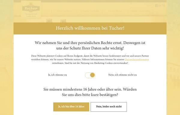 Vorschau von www.tucher.de, Tucher Bräu GmbH & Co. KG