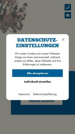 Vorschau der mobilen Webseite wildbraeu.de, Wildbräu OHG