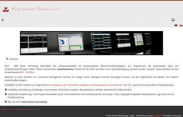 Vorschau von www.wallst.de, Wall Street Technology GmbH