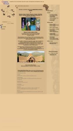 Vorschau der mobilen Webseite www.cobra-verde.de, Cobra Verde Afrikareisen