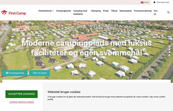 Vorschau von www.bogensecamp.dk, Bogense Strand Camping